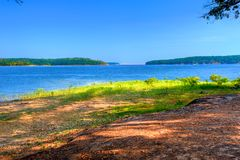 Jeziorny De Szarość, Arkansas Obraz Stock