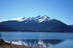 Jeziorny Dillon Kolorado Obrazy Stock