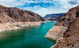 Jeziorny dwójniak od Hoover tamy obraz royalty free