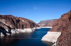 Jeziorny dwójniak Hoover tamą Zdjęcie Royalty Free