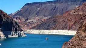 Jeziorny dwójniak nad Hoover tama Zdjęcia Royalty Free