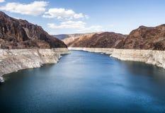 Jeziorny dwójniak od Hoover tamy, letni dzień - Arizona, AZ Obrazy Royalty Free