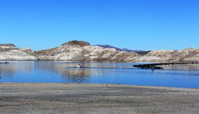 Jeziorny dwójniak przy Arizona usa Zdjęcia Royalty Free