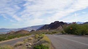 Jeziorny dwójniaka park narodowy w Nevada Zdjęcie Royalty Free
