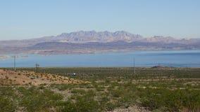 Jeziorny dwójniaka park narodowy w Nevada Zdjęcia Royalty Free