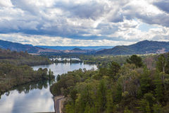 Jeziorny Eildon, Wiktoria, Australia Obrazy Royalty Free