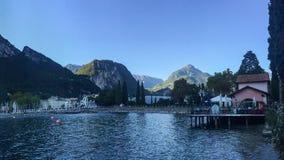 Jeziorny Garda, Włochy Obrazy Stock