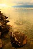 Jeziorny Genewa zdjęcie royalty free