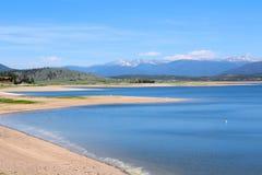 Jeziorny Granby, Kolorado obraz royalty free