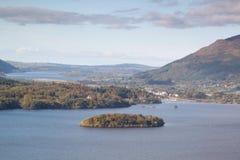 Jeziorny Gromadzki jezioro Zdjęcia Royalty Free