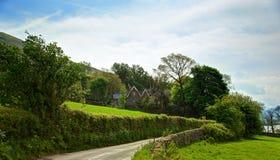 Jeziorny Gromadzki park narodowy, Cumbria, Anglia, UK Zdjęcia Stock