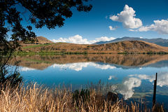 jeziorny halny lato Zdjęcie Stock