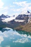 jeziorny halny odbicie zdjęcia stock