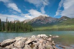 jeziorny halny ostrosłup Fotografia Royalty Free