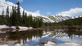 jeziorny halny skalisty Zdjęcie Royalty Free
