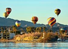 Jeziorny Havasu Balonowy Fest Zdjęcie Royalty Free