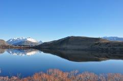 Jeziorny Hayes przy Nowa Zelandia Fotografia Stock