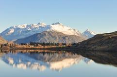 Jeziorny Hayes przy Nowa Zelandia Obrazy Stock