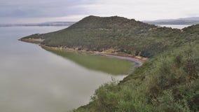 Jeziorny Ichkeul park narodowy w Północnym Tunezja, Afryka Zdjęcia Stock