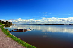 Jeziorny Jamno ranek Obrazy Royalty Free