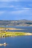 Jeziorny Jindabyne foreshore w Australia fotografia stock