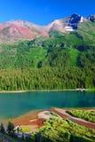 Jeziorny Josephine lodowa park narodowy obrazy royalty free