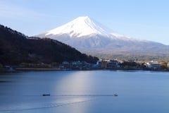 Jeziorny Kawaguchiko obrazy royalty free