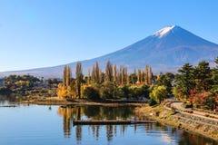 Jeziorny Kawaguchiko Obrazy Stock
