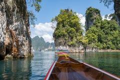 Jeziorny khao soku park narodowy obrazy royalty free