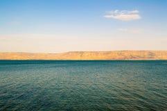 Jeziorny Kinneret, Izrael Fotografia Stock