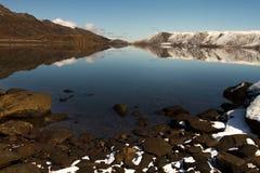 Jeziorny Kleifarvatn Zdjęcie Royalty Free