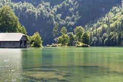 Jeziorny Koenigssee Obraz Stock