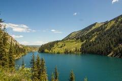 Jeziorny Kolsay Zdjęcia Royalty Free