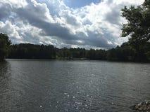 jeziorny lśnienie Obrazy Royalty Free