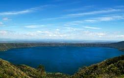 Jeziorny Laguna De Apoyo, Nikaragua Zdjęcia Royalty Free