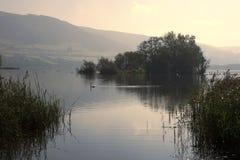 jeziorny llangorse fotografia stock