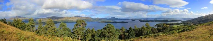 Jeziorny Loch Lomond, Szkocja Obrazy Stock