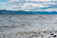Jeziorny loch ness Scotland Obraz Royalty Free