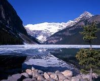 Jeziorny Louise, Alberta, Kanada. Zdjęcie Royalty Free