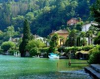 jeziorny Lugano Zdjęcie Stock