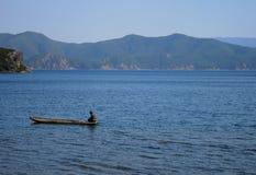 jeziorny lugu Obraz Royalty Free