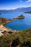jeziorny lugu Yunnan Obrazy Stock