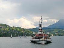 jeziorny Luzern Zdjęcia Stock