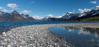 Jeziorny Luzern, Szwajcaria Fotografia Royalty Free