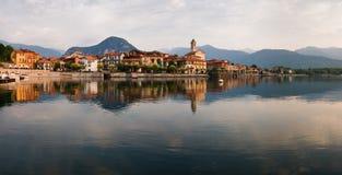 jeziorny maggiore zdjęcie stock