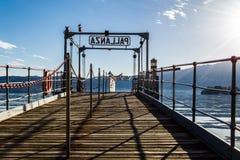 Jeziorny Maggiore fotografia royalty free