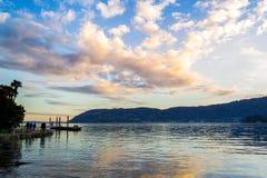 Jeziorny Maggiore zdjęcia royalty free