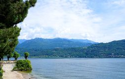Jeziorny Maggiore Fotografia Stock