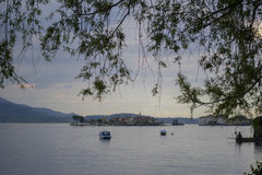 Jeziorny Maggiore (Włochy) fotografia royalty free