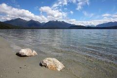 jeziorny manapouri Obraz Stock